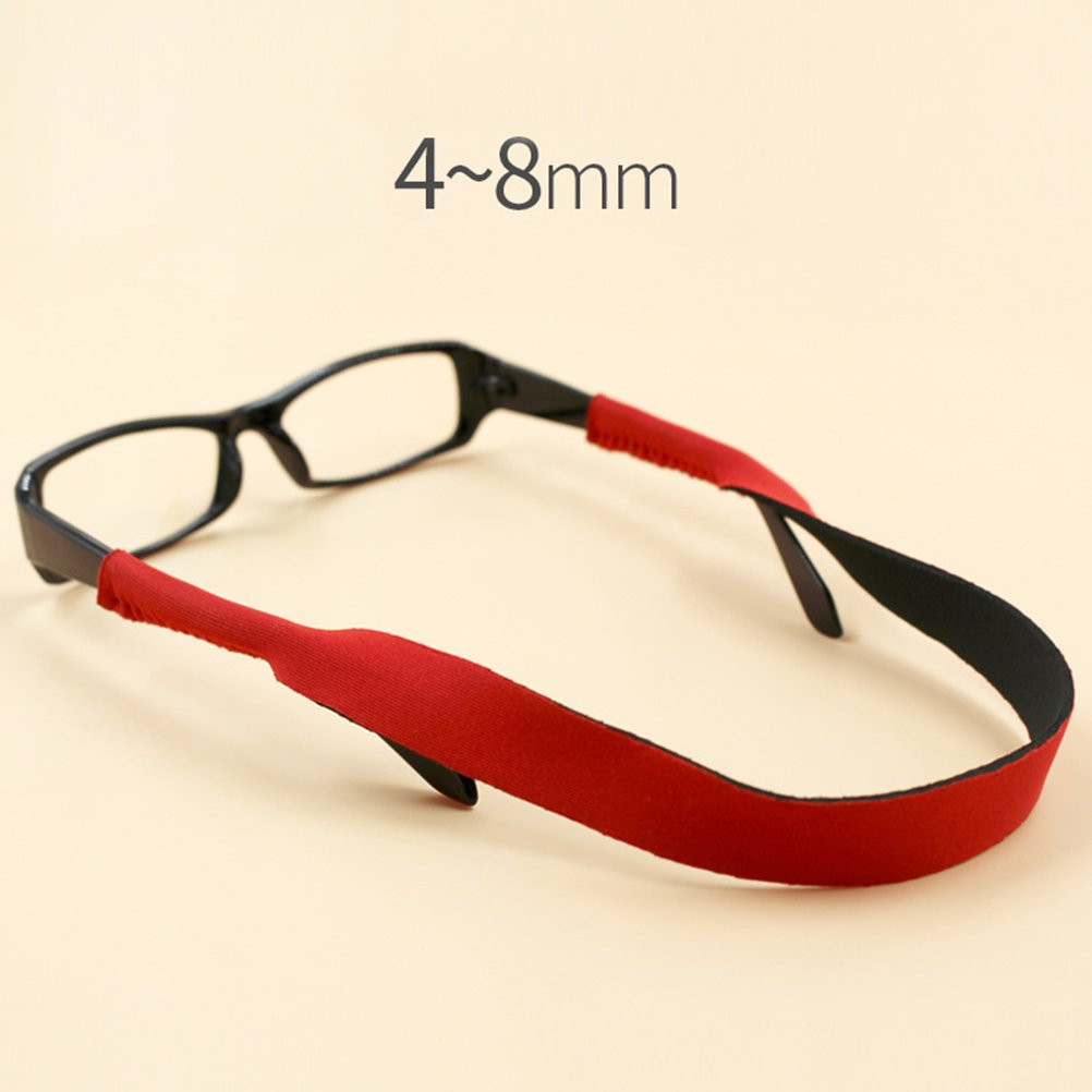 Red VORCOOL Swimming Goggles Swimming Goggles porte-sangle Sunglasses Glasses Retainer Cord Lanyard
