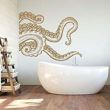 Foto Sticker Muur.Wall Sticker Zee Dier Gigantische Octopus Amazon Com