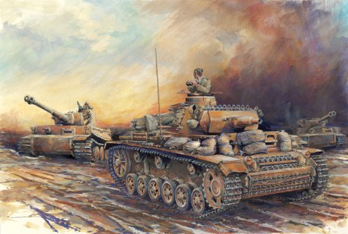 Dragon Models 1/72 Pz.Kpfw.III Ausf.N DAK ~ Armor Pro, used for sale  Delivered anywhere in USA