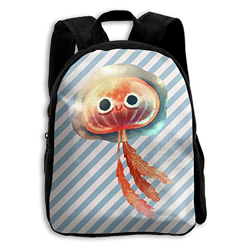 Jellyfish Print Kids Backpack Toys Bag Toddler Bag For Children