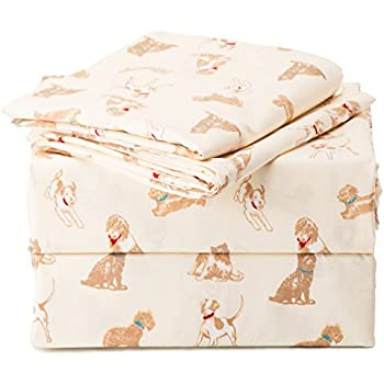 Amazon Com Divatex Dogs Bones And Paw Prints Cotton
