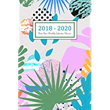 2018 - 2020 Three Year Monthly Calendar Planner: Monthly Schedule Organizer | Three Year - 36 Months Calendar | Agenda Planner For The Next Three Years, Appointment Notebook, Monthly Planner, To Do List, Action Day, Passion Goal Setting, Happiness Gratitude Book