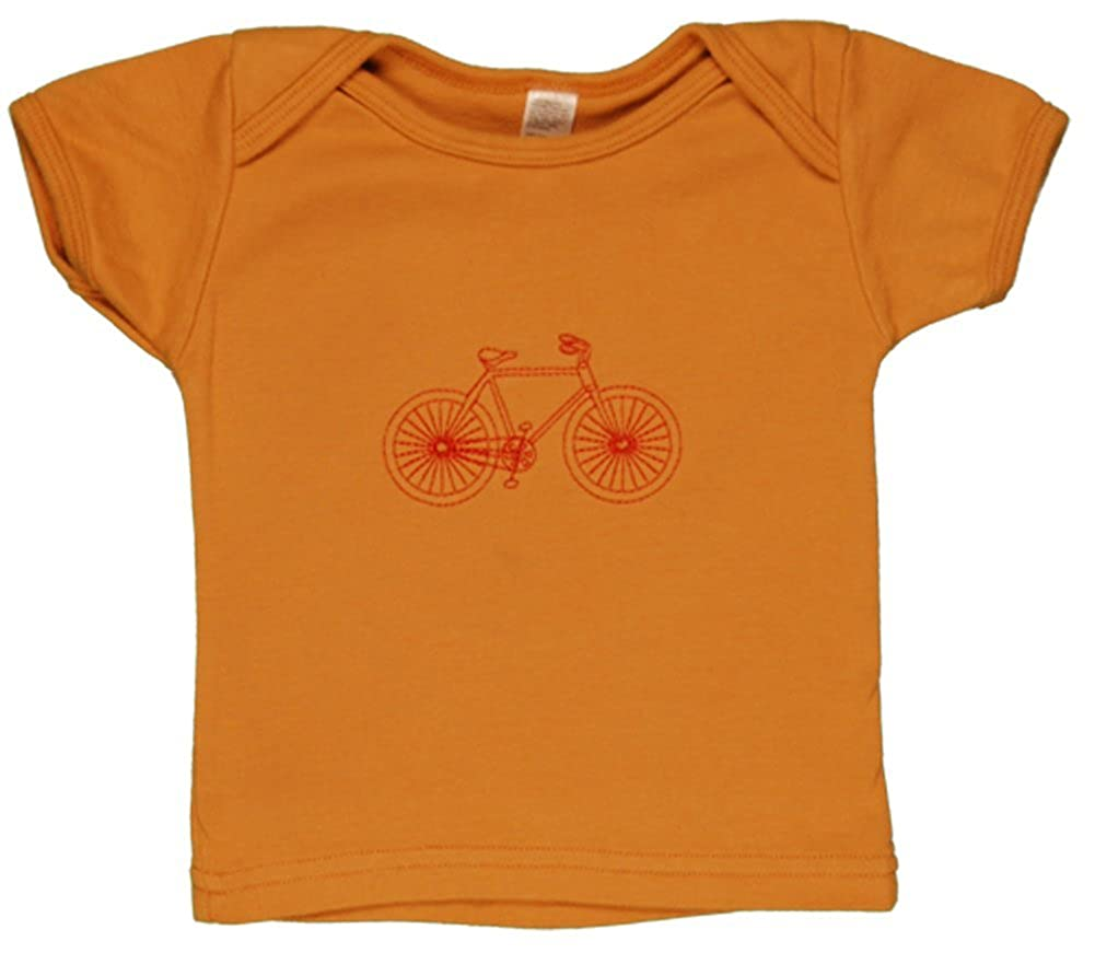 100/% organic cotton-Made in the USA TwOOwls Bicycle Short Sleeve Tee
