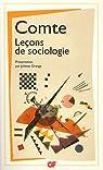 Leçons de sociologie par Comte
