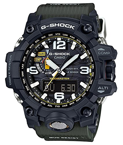 Amazon.com: Casio Mens G-Shock GWG1000-1A3 Army Green/Black Resin Quartz Watch: Casio: Watches
