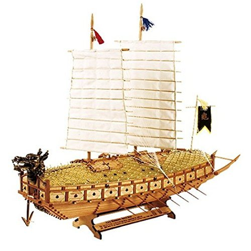 [Wood Model Kit] 1/100 Scale Turtle Ship