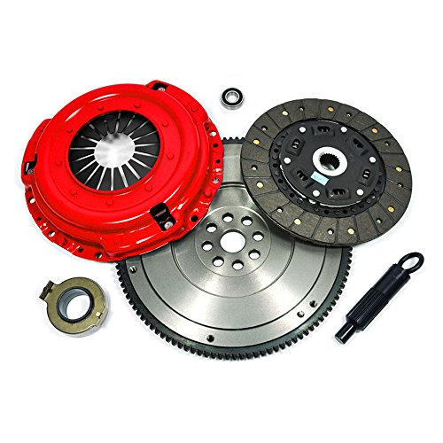 EFT STAGE 2 CLUTCH KIT+FLYWHEEL 95-04 TOYOTA 4RUNNER TACOMA T100 TUNDRA 3.4L V6 (Flywheel Tacoma compare prices)