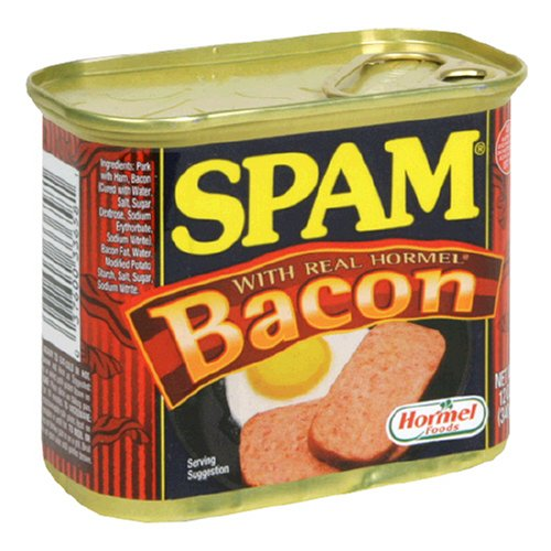 SPAM With Bacon (Pack of 6)
