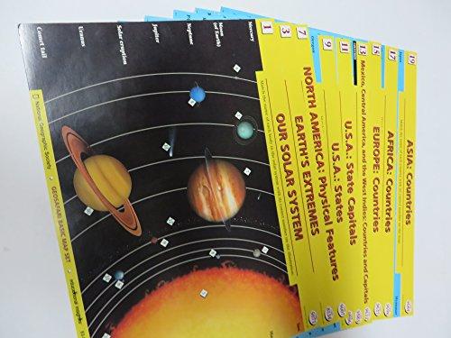 Geosafari Card Set - GEOSAFARI Basic Map Set - EI-8764 / National Geographic Society