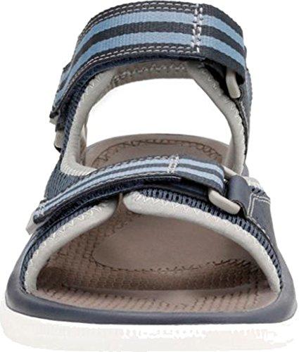 Clarks Mens Balta Himmel Huarache Sandal Marinblå Syntetiska
