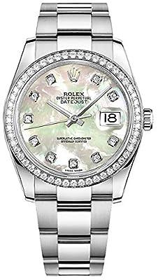 Women's Rolex Datejust 36 Diamond Luxury Watch (Reference: 116244) by Rolex Watches