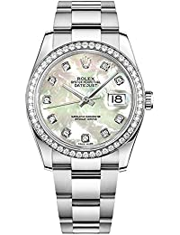 Womens Rolex Datejust 36 Diamond Luxury Watch (Reference: 116244)