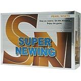 ブリヂストン(BRIDGESTONE) SUPER NEWING ホワイト 半ダース(6個入り) SEWY