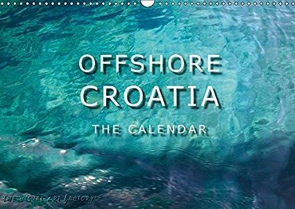 offshore croatia kroatiens wundervolle ksten wall calendar 2019 14 pages size