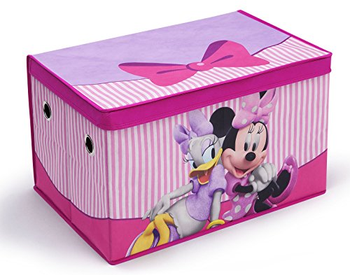 Delta Children Fabric Toy Box, Disney Minnie Mouse