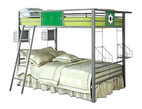 Furniture of America Nova Soccer Full-Full Metal Bunk Bed by Furniture of America