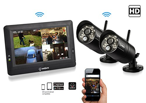 2 camera outdoor security system - 9