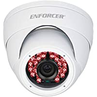 Seco-Larm EV-2706-NFWQ Enforcer Ball Camera, 600TV, Vandal-Resistant, 50 Ft., White