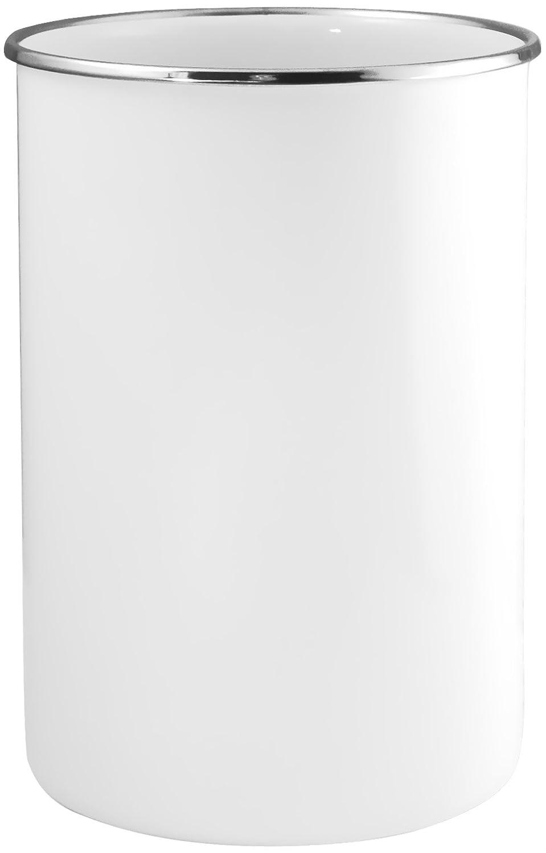 Reston Lloyd 82300 Calypso Basics by Enamel on Steel Utensil Holder, White, Standard