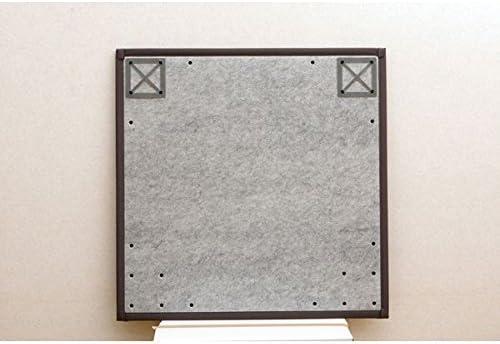 ユニット畳 『タイド』 ブラウン 82×82×2.3cm(6枚1セット)(中材:低反発ウレタン+フェルト)
