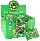 Heavenly Organics Honey Pattie, Chocolate Mint, (Pack of 40)