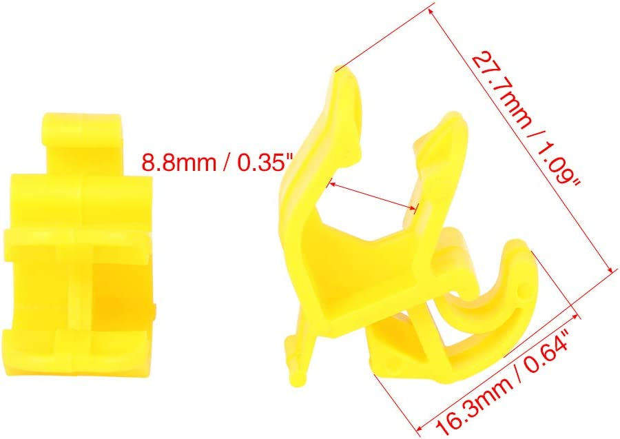 millenniumpaintingfl.com X AUTOHAUX 10pcs 27.7mm Plastic Car Hood ...
