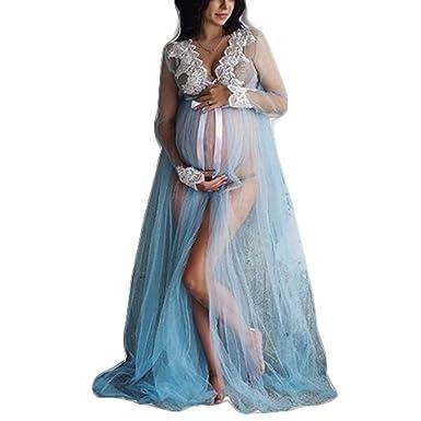 venta al por mayor presentación Descubrir Vestido Premama Verano Ropa Embarazada Fotografia Tul ...
