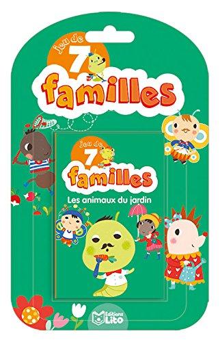Jeux 7 Familles: Les animaux du jardin - Dès 5 ans