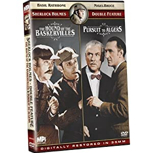Sherlock Holmes: The Hound of the Baskervilles/Pursuit to Algiers (2009)