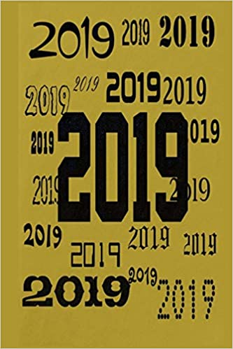 photograph relating to Stylish Planners and Organizers identify 2019 Each day Planner 2019 Elegant Practice 384 Webpages: (Laptop