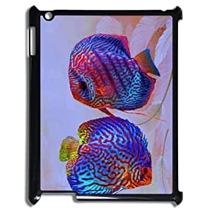 Colorful fish ZLB608135 Custom Phone Case for Ipad 2,3,4, Ipad 2,3,4 Case by mcsharks