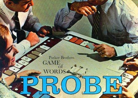 Probe; Parker Brothers Game of Words (1964 Edition) from Parker Brothers