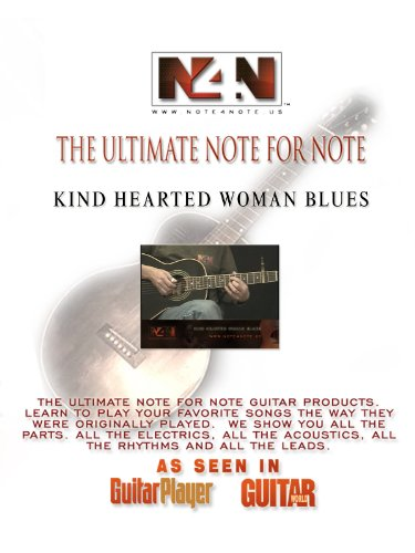 Note4Note.US-Kind Hearted Woman Blues Guitar Lesson