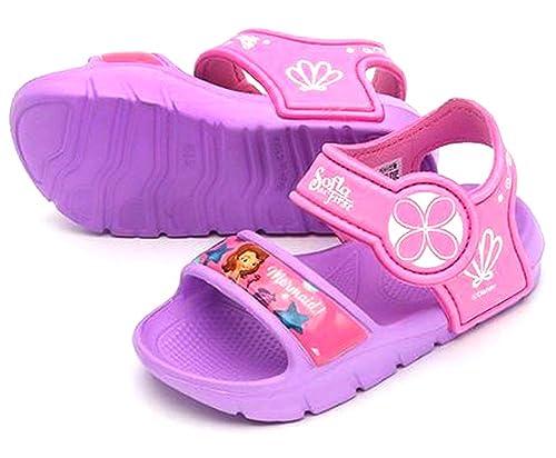 GIRLS BOYS OFFICIAL CARTOON CHARACTER NOVELTY SLIPPERS INFANTS KIDS DISNEY