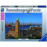 Ravensburger - 19457 5 - Puzzle - Hambourg - 1000 Pièces