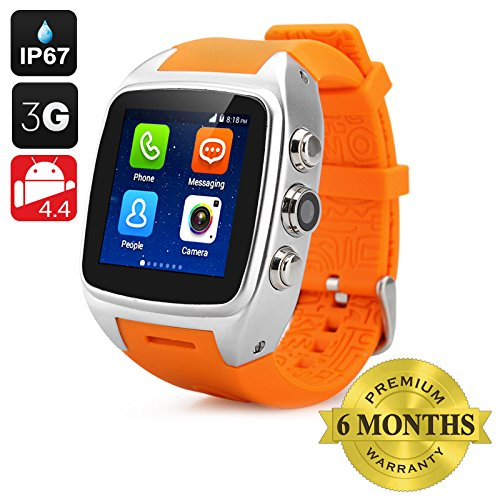 BW iMacwear SPARTA M7 inteligente reloj teléfono - 3 G, IP67 ...