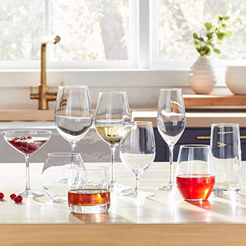 Stone & Beam Traditional Martini Coupe Glass, 8-Ounce, Pack of 6 by Stone & Beam (Image #2)