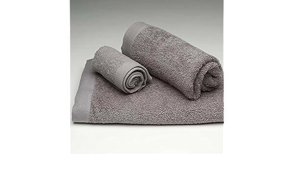 Burrito Blanco Juego de Toallas de Baño Lisas 3 Piezas (1 toalla de Ducha de 70x140 cm, 1 Toalla de Mano de 50x100 cm y 1 Toalla de Bidet de 30x50 cm) ...