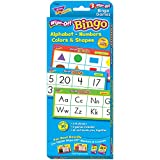 Trend Enterprises Inc Alphabet, Numbers, Colors & Shapes Wipe-Off Bingo