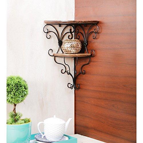 Onlineshoppee Beautiful Wooden Decorative Corner Wall
