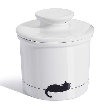 Amazon.com: Sweese 305.238 Porcelain Butter Keeper Crock ...