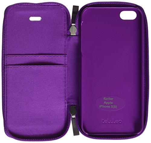 Telileo 3521 Zip Case - Apple iPhone 5/5S/5SE - Zara Violett
