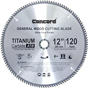 Concord Blades Wcb1200t120 P Tct General Purpose 12 Inch