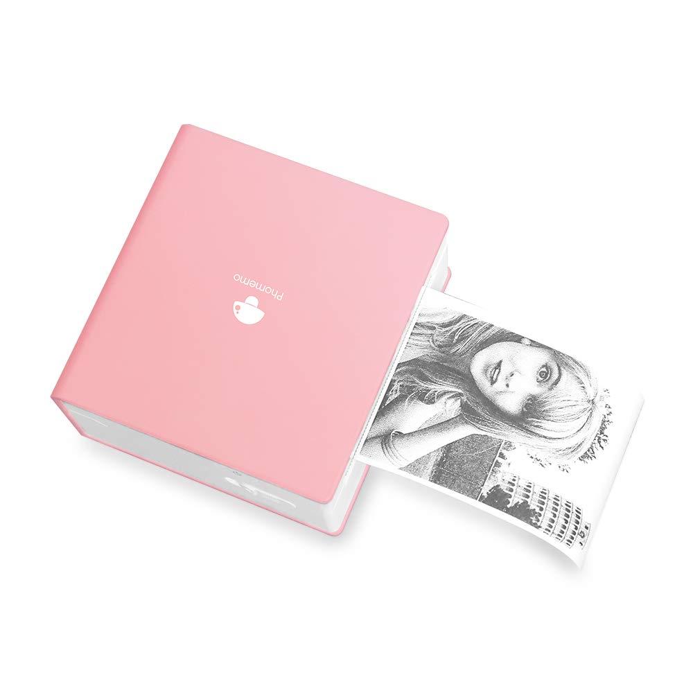 Impresora Portatil Inalambrica Bluetooth Phomemo Rosa