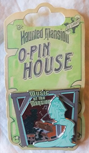 Disney Haunted Mansion O-Pin House Pin with the Bride titled Music of the Music