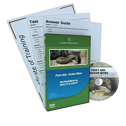 Convergence Training C-897 First Aid - Snake Bites DVD