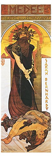Medee Giclee Print Giclee Poster Print by Alphonse Mucha, 12x36