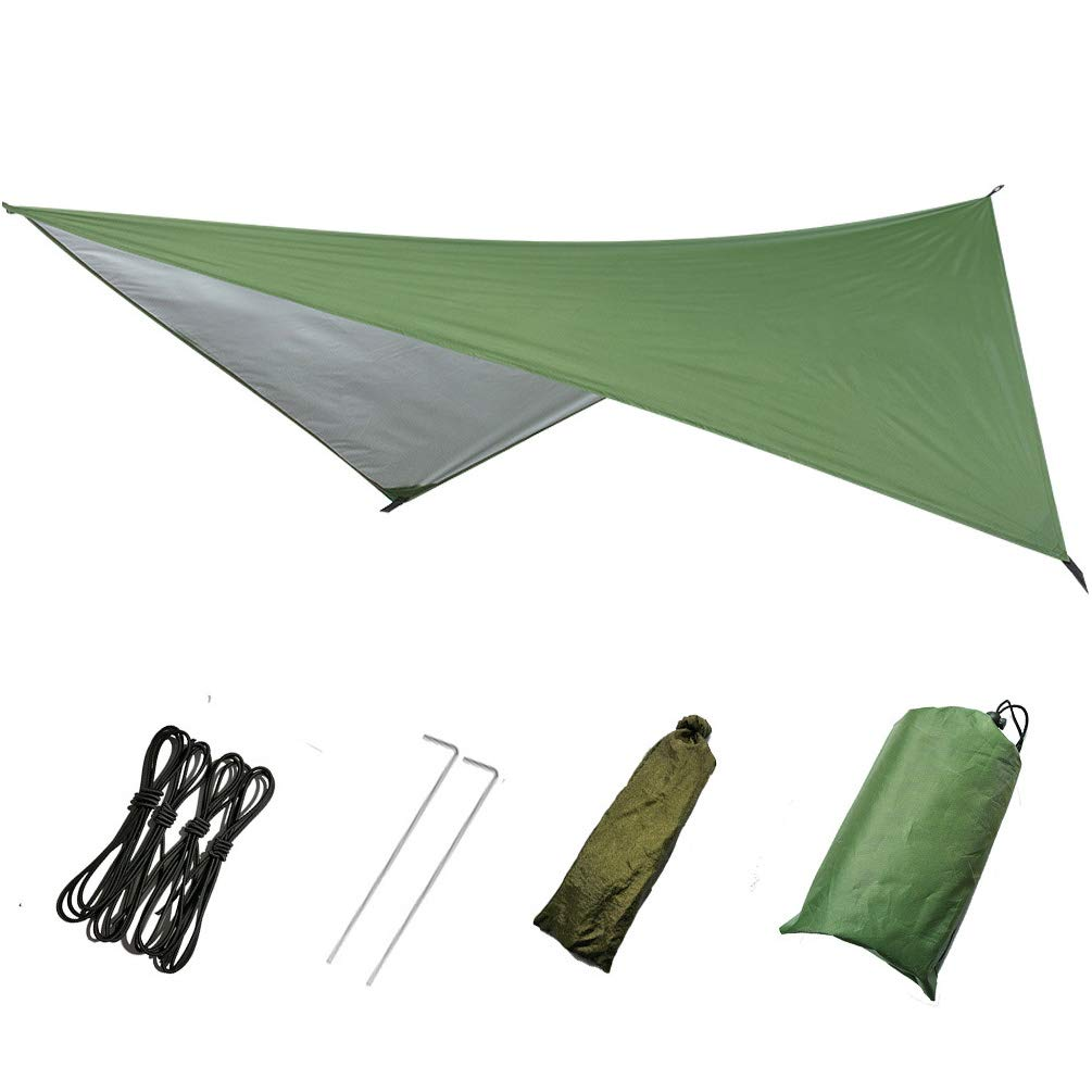 Outdoor Tent Portable Snowproof Windproof Waterproof Backdrop for Camping Outdoor Travel for Snow Sunshade Camping Shelter for Beach Picnic by Lin-Tong