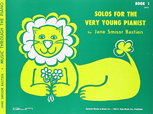 Very Young Pianist - GP75 - Solos for the Very Young Pianist Book 1 - Bastien