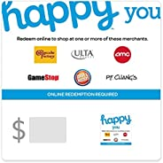 Happy You Gift Cards - Email Delivery